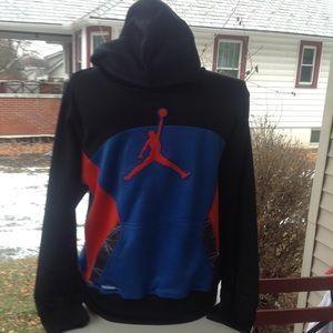 Boys Nike jordan sweatshirt.
